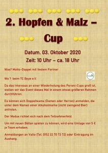 2. Hopfen & Malz – Cup