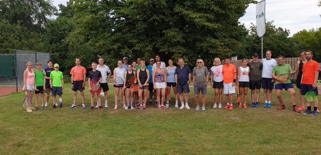 Tennis für Daheimgebliebene am 01. August