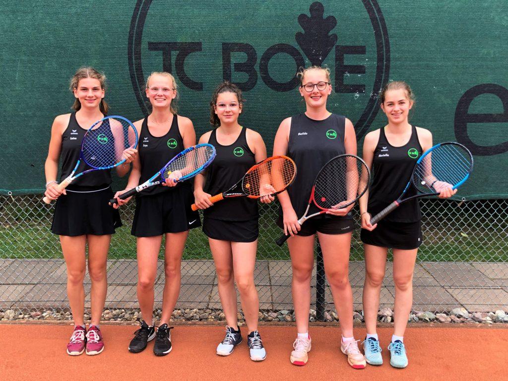 Boyer A-Juniorinnen sichern sich Staffelsieg